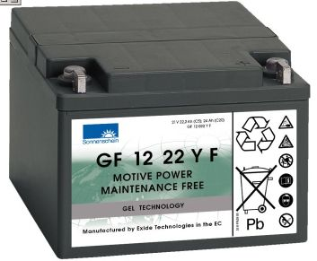 dryfit Gelbatterie 12V/22Ah(C5)