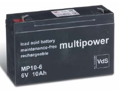 multipower Batterie 6V/10 Ah(C20)